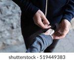drug trafficking  crime ... | Shutterstock . vector #519449383