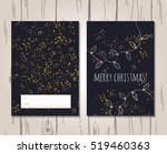 vector image of christmas... | Shutterstock .eps vector #519460363