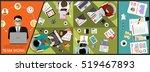 flat design illustration...   Shutterstock .eps vector #519467893