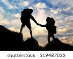Mountaineer Gives Helping Hand...