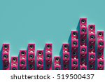 stylish equalizer from the... | Shutterstock . vector #519500437