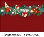 Christmas Knitted Background...