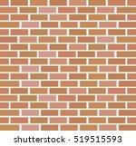 brick wall bacground | Shutterstock .eps vector #519515593