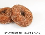 Apple Cider Donuts Isolated On...