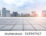 empty floor with modern... | Shutterstock . vector #519547417