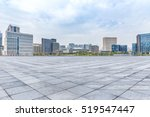 empty floor with modern... | Shutterstock . vector #519547447