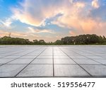 empty tiled floor against... | Shutterstock . vector #519556477
