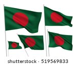 bangladesh vector flags set. 5...