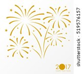 firework background  can be use ... | Shutterstock .eps vector #519576157