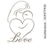 parenting logo template vector | Shutterstock .eps vector #519577933