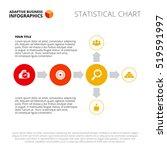 flowchart slide template | Shutterstock .eps vector #519591997