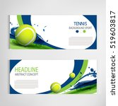 tennis ball championship or... | Shutterstock .eps vector #519603817
