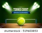 tennis ball championship or... | Shutterstock .eps vector #519603853