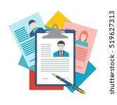 flat design illustration... | Shutterstock .eps vector #519627313