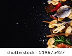 Dried Fish  Squid And Crackers...