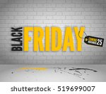 black friday banner with... | Shutterstock .eps vector #519699007