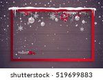merry christmas and happy new... | Shutterstock .eps vector #519699883