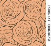 vector illustration. seamless... | Shutterstock .eps vector #519708937