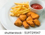 Chicken Nuggets With French...