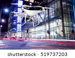 hovering drone taking pictures... | Shutterstock . vector #519737203