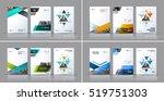 business vector set. brochure... | Shutterstock .eps vector #519751303
