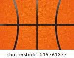 basketball ball leather... | Shutterstock .eps vector #519761377