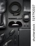 man accessories in business... | Shutterstock . vector #519792037