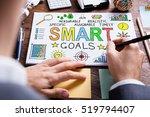 close up of businessperson... | Shutterstock . vector #519794407