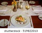 traditional peruvian fish... | Shutterstock . vector #519822013