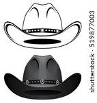 cowboy hat is an illustration... | Shutterstock . vector #519877003