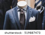 elegant suits in a store   Shutterstock . vector #519887473