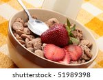 cereals bowl for breakfast as a ... | Shutterstock . vector #51989398