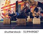 active people sport workout... | Shutterstock . vector #519949087