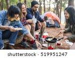 people friendship hangout... | Shutterstock . vector #519951247