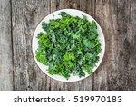 green vegetable  leaves of kale ...   Shutterstock . vector #519970183