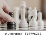 chess game. conceptual image... | Shutterstock . vector #519996283