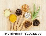 Natural Spa Ingredients. Coffe...