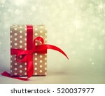 christmas presents. | Shutterstock . vector #520037977