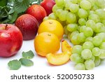 detox diet food   healthy... | Shutterstock . vector #520050733