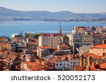 view of santander  cantabria.... | Shutterstock . vector #520052173