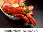 Seafood Lobster Platter With...