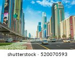 dubai  united arab emirates  ... | Shutterstock . vector #520070593
