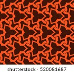 abstract geometric seamless... | Shutterstock .eps vector #520081687