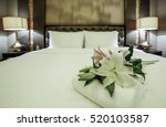 elegant and comfortable home  ... | Shutterstock . vector #520103587