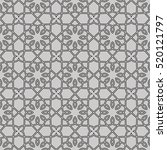 seamless pattern with... | Shutterstock .eps vector #520121797