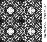 stylish seamless pattern.... | Shutterstock .eps vector #520121857