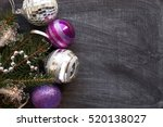 christmas ornaments  decoration | Shutterstock . vector #520138027