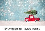 Christmas Tree On Toy Car....