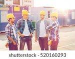 business  building  teamwork... | Shutterstock . vector #520160293