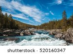 Mountain River In Norway.